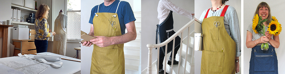 Lisa Bennett • IN THE MAKING – aprons